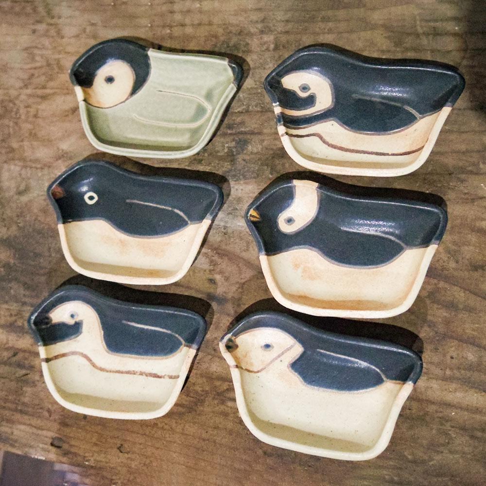 ペンギン豆皿