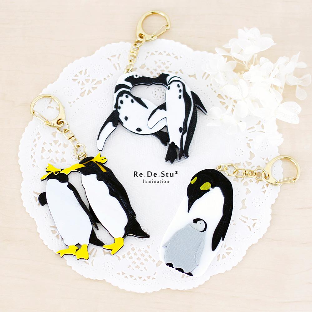 ペンギンキーホルダー(3Dプリンター製です)